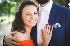 Engagement photos at the Louvre, Paris, France. Bright Colors. Elopement ideas.